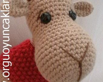 Amigurumi Cristmas Reindeer Pattern