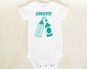 Beer Lover, Cheers, Craft Beer Baby Bodysuit, Baby Boy, Baby Girl, Baby Gift, Baby Outfit, Funny Baby Gift, Baby Beer, Screen Printed