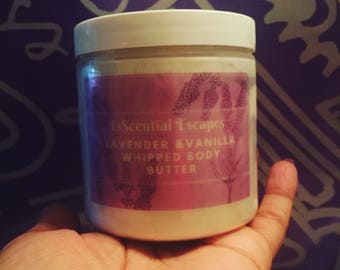 Lavender & Vanilla Whipped Body Butter