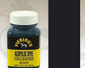 Black Fiebings Acrylic Paint 2oz #34-260001