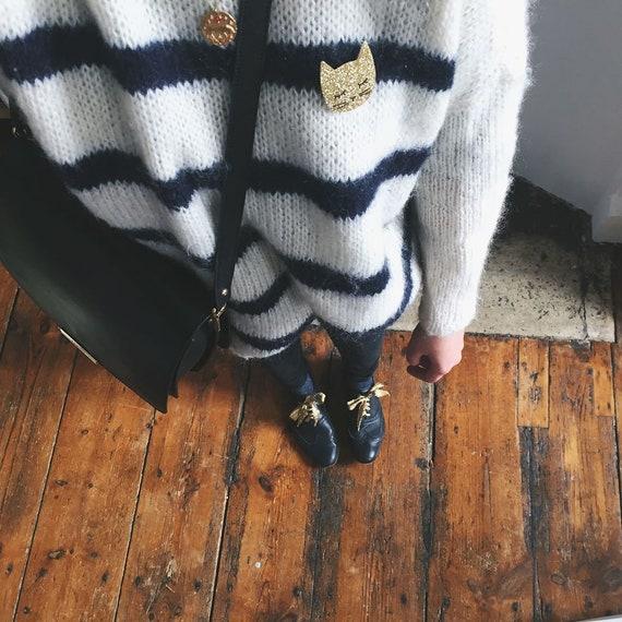 Simone - Handmade - Cactus - the Rochelle tender cat brooch