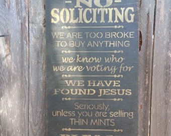 no solicitation sign, No Soliciting Sign, funny no soliciting, no solicitors, front porch sign, porch rules, front door decor, 156