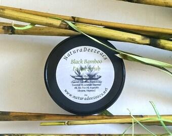 Black Bamboo Facial Scrub