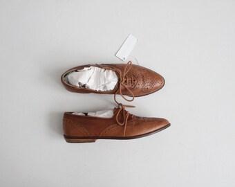 brown leather oxfords | leather oxfords 6.5 | brown oxfords 7