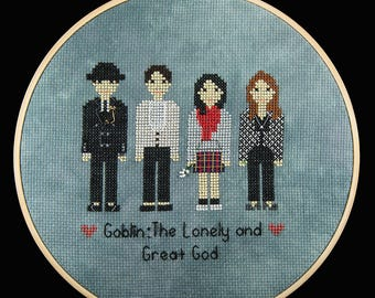 Goblin Kdrama Cross Stitch Pattern PDF - Instant Download (도깨비)