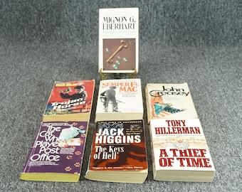 Vintage Assortment Of 7 Mystery Novels