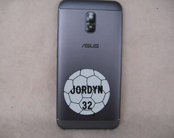 Soccer Gift / Personalized Soccer Gifts / Soccer Phone Tag