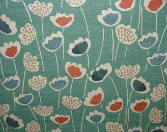 Prestigious Textiles Clara Scandi Floral SOUTH PACIFIC Curtain Upholstery Roman Blind Fabric