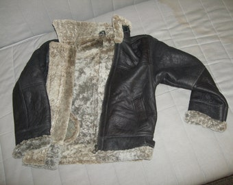 KID  SHEARLING  JACKET