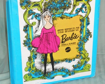 Barbie Mod Doll Case, vintage Barbie case, vintage vinyl case, Barbie, Barbie doll,