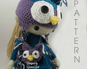 Claire - Amigurumi Doll Crochet Pattern