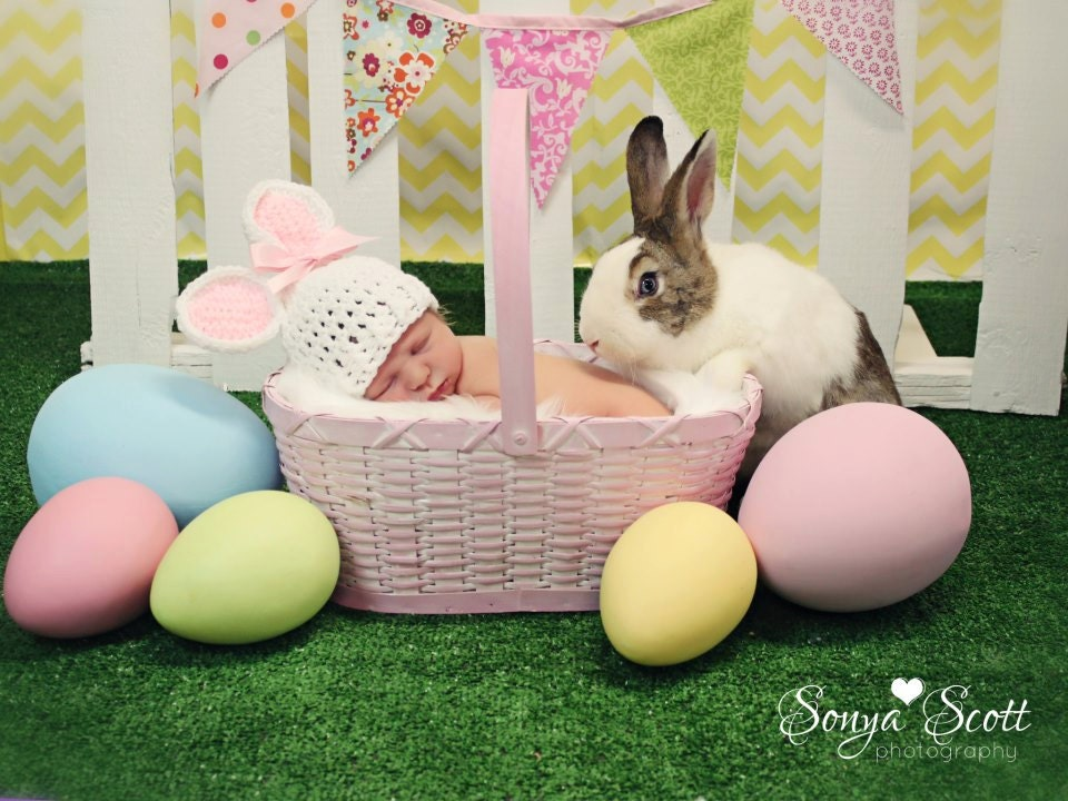 Newborn Easter Pic Ideas