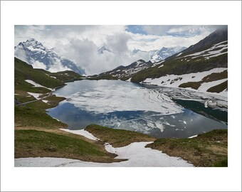 Swiss Alps - Bachalpsee Lake - Switzerland - Color Photo Print - Fine Art Photography (SW06)