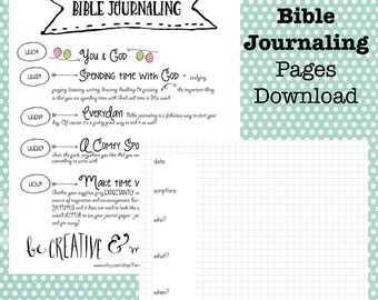 Bible Journal Pages Download