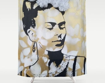 The Golden One Shower Curtain