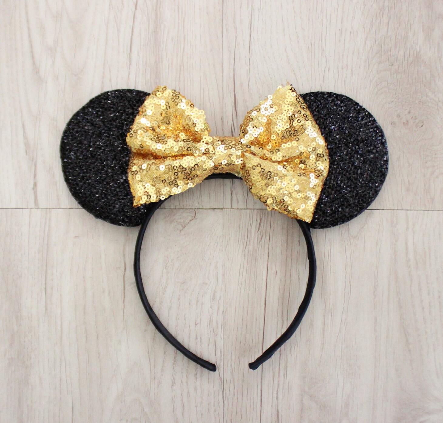 Gold Disneyland Ohren Minnie Maus Ohren Mickey Mouse Ohren