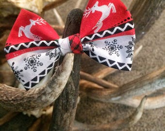 Holiday Pet Bow Tie