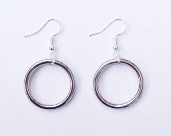 O Ring Earrings