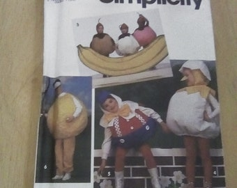 Simplicity 7415, Adult's and Child's Costumes