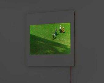 DADA Light Diapo - Heinrich Kühn - Landscape