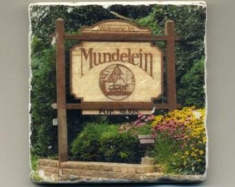 Mundelein Illinois - Original Coaster