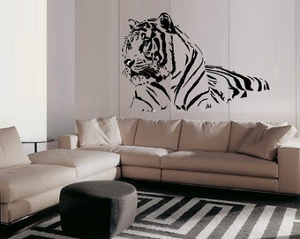 Tiger - Wall Art Sticker