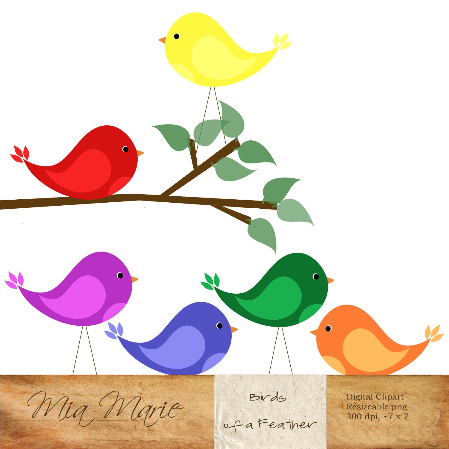instant download digital clip art bird clipart bird clip rh etsy com love bird tree clipart love bird clipart silhouette