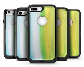 Lined 423 Absorbed Watercolor Texture - OtterBox Case Skin-Kit for the iPhone, Galaxy & More