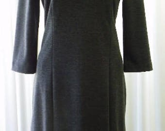 Day Dress Vintage Banana Republic Charcoal Unworn Size 8