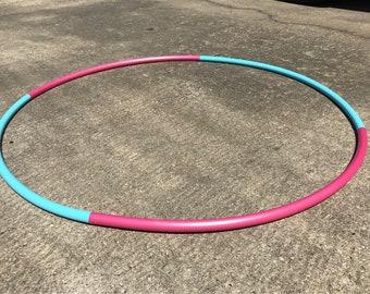 "Cotton Candy 4 piece travel 3/4"" polypro hula hoop"