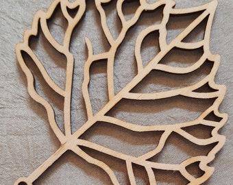 Wooden Leaf - Cottonwood