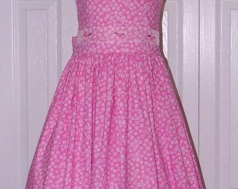 1341 Pink Swirl Sundress