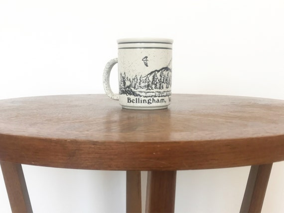 Vtg Bellingham Washington Mug