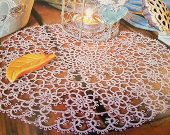 Tatted doily pattern in the Moje Robótki magazine (3/2017)