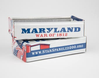 Maryland license plate box - father's day gift - gift for mom's dad's and grad's - teacher gift - graduation gift - graduation gift box