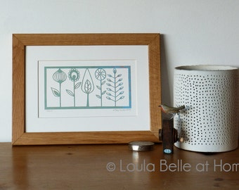 Flora papercut by Loula Belle at Home