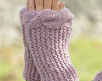 Womens/Teens  Handmade Cabled Fingerless Gloves/Handwarmers. All Colors Available. Custom Made. Christmas Gift.