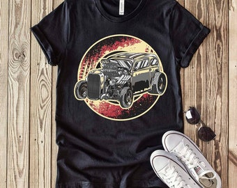 Hot Rod T-Shirt for men Classic Car Shirt