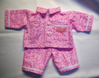 Handmade Cabbage Patch Doll Clothes  Pajamas Angel