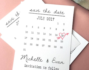 Save the Date calendar template, save the date printable, save the date postcard, save the date card