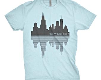 "Chicago Skyline ""Windy City"" T-Shirt"