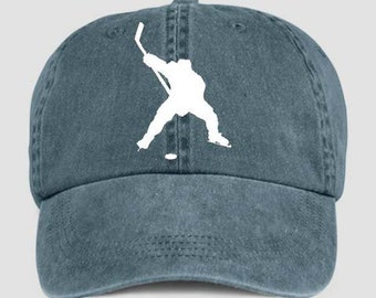ICE HOCKEY PLAYER Ice Sport Baseball Style Cap Hat