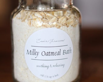 Milky Oatmeal Bath