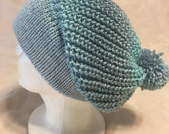 Handcrafted Slouchy Hat, Slouchy Beanie, Slouch Hat, Slouch Beanie, Winter Hat, Fall Hat, Beanie, Rasta Hat, Winter Beanie, Fall Beanie