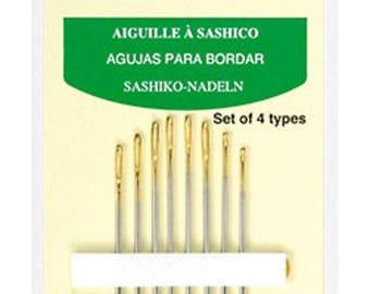 Hand sashiko Clover sashico 8 needles.