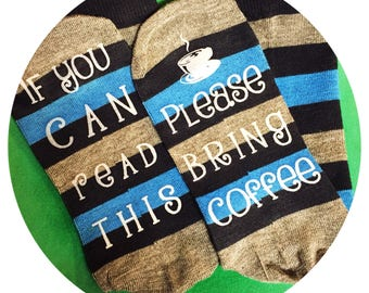 Socks - if you can read this please bring coffee