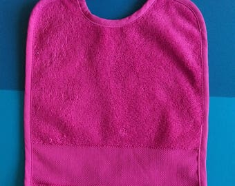 Bib with location for custom embroidery