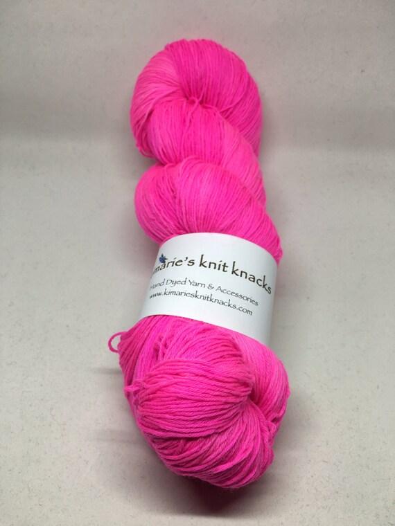 Hand Dyed Superwash Merino Shawl Length Yarn Skeins_Girls Just Wanna Have Fun