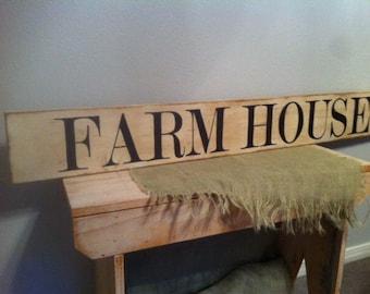 FARM HOUSE Sign Large Farmstyle