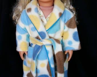 "18"" Doll Pajama and Robe Set"
